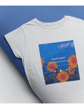 post-malone-swae-lee-sunflower-aesthetic-vintage-graphic-t-shirt-music-clothing-unisex by etsy