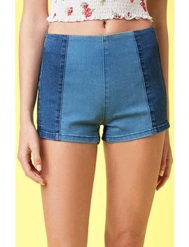 Lottie Moss Halves Wash Tap Shorts by Pacsun