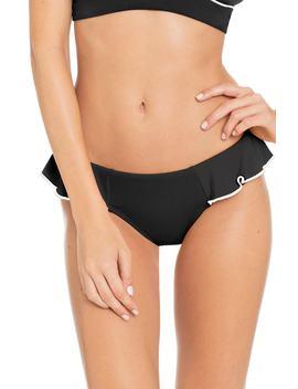 Malia Ruffle Bikini Bottoms by Robin Piccone