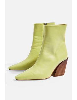 Henley High Ankle Boots by Topshop