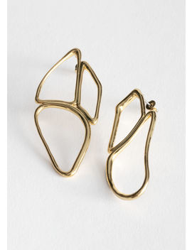 Cutout Pendant Earrings by & Other Stories