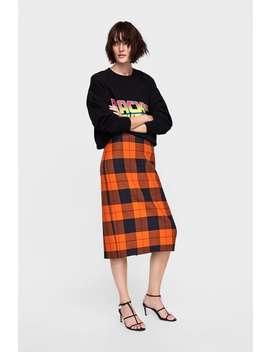 Back To The Future® Printed Sweatshirt  Knitwearwoman Sale by Zara