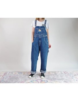 90s Southpole Hip Hop Rap Style Iconic Denim Overalls / Size M by Etsy