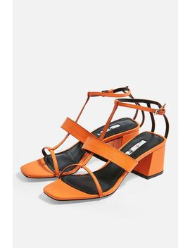 Ribbon T Bar Sandals by Topshop