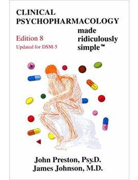 Clinical Psychopharmacology Made Ridiculously Simple (Medmaster) by Amazon