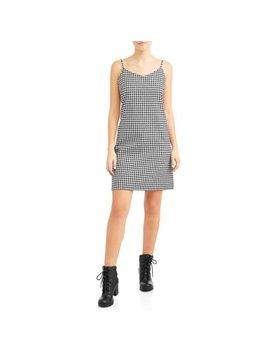 Juniors Patterened Mini Dress by L.N.V
