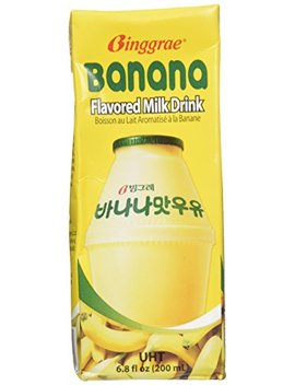 Binggrae Banana Flavor Milk 6 Pack by Binggrae