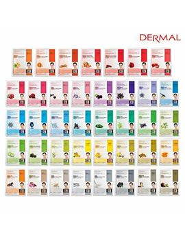 Dermal 39 Combo Pack Collagen Essence Full Face Facial Mask Sheet   The Ultimate Supreme Collection For Every Skin Condition Day To Day Skin Concerns. Nature Made Freshly Packed Korean Face Mask by Dermal