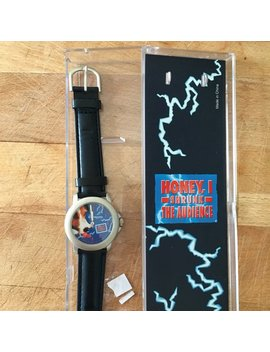 "Vintage 90's Disney Disneyland Paris Souvenir Unisex Leather Strap Watch ""Honey I Shrunk The Kids"" Disney Collectors Watch Theme Park Rare by Etsy"