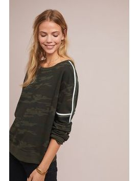 Striped Camo Sweatshirt by Sanctuary