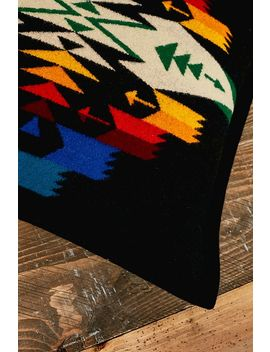 Pendleton Black Tuscon Cushion by Pendleton