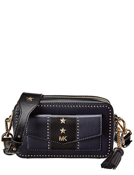 Michael Kors Whitney Small Pocket Camera Leather Bag by Michael Michael Kors