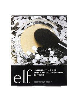 E.L.F. Cosmetics Highlighter And Brush Value Set by E.L.F. Cosmetics