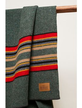 Pendleton Yakima Green Throw Blanket by Pendleton
