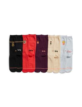 Days Of The Week Pack Of 5 Crew Socks by Stance