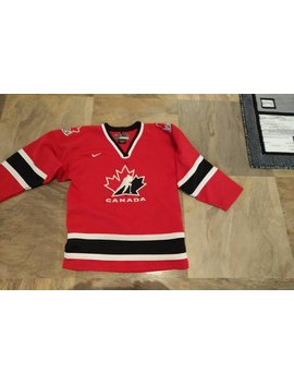 Vintage 2002 Team Canada Hockey Jersey by Etsy