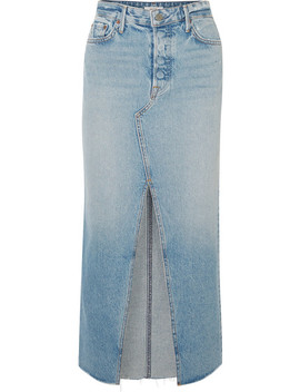 Isla Denim Skirt by Grlfrnd
