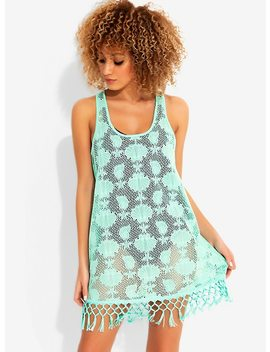 Disney The Little Mermaid Mint Swim Cover Up by Hot Topic