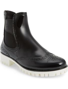Leeds Brogue Rain Boot by DÄv