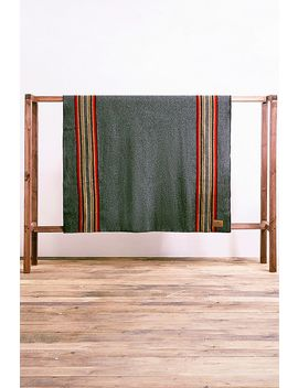 Pendleton Yakima Grey Throw Blanket by Pendleton