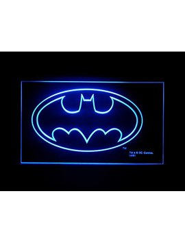 Batman Classic Led Light Sign by Fatianst