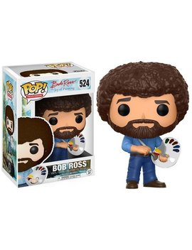 Funko 14813 Px 1 W2 14813 Bob Ross Pop Vinyl, Multi by Funko