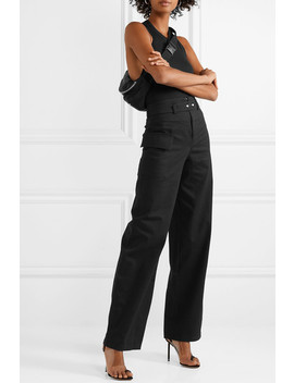 Cotton Twill Wide Leg Pants by The Range