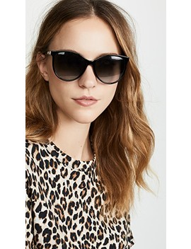 Web Cat Eye Sunglasses by Gucci