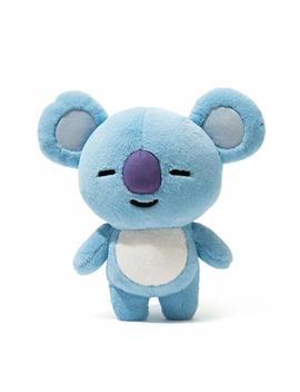Bt21 Koya Standing Plush Doll Medium Blue by Bt21
