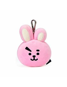 Bt21 Cooky Face Plush Doll 3.9 Inch Pink by Bt21
