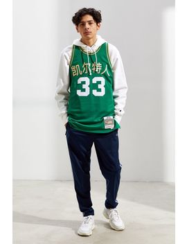 Mitchell & Ness Chinese New Year Boston Celtics Larry Bird Basketball Jersey by Mitchell & Ness