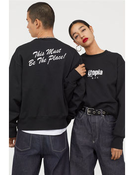 Sweatshirt I Bomull by H&M