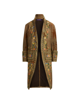 Austine Embroidered Coat by Ralph Lauren