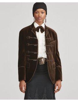Celessee Velvet Jacket by Ralph Lauren