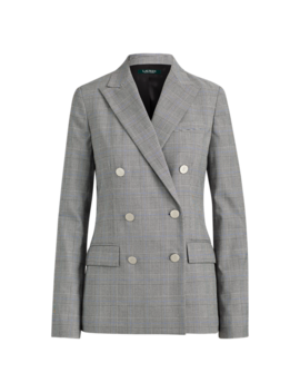 Double Breasted Twill Blazer by Ralph Lauren