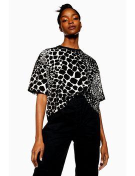Giraffe Boxy T Shirt by Topshop