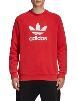 Trefoil Logo Warm Up Sweatshirt by Adidas Originals