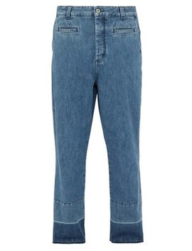 Fisherman Mid Rise Straight Leg Jeans by Loewe