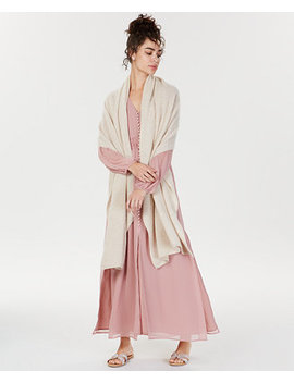 Oversized Cashmere Scarf, Created For Macy's by Charter Club