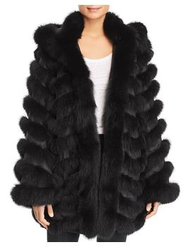 Reversible Fox Fur Coat   100 Percents Exclusive by Maximilian Furs