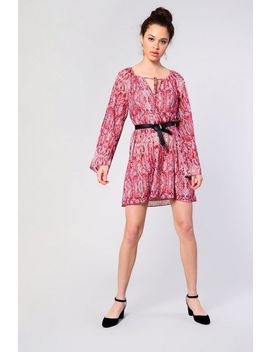 **Snakeskin Tunic Dress By Glamorous by Topshop
