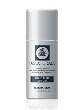 Oz Naturals Super Youth Eye Gel – Anti Wrinkle, Anti Aging Eye Cream For Dark Circles, Puffiness, Wrinkles. The Most Effective Natural Skin Care Available. 98 Percents Natural.5 Fl. Oz. by Oz Naturals