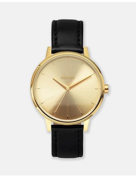Kensington Leather Watch by Nixon