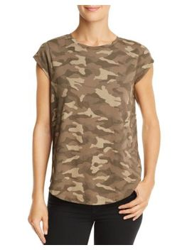 Dillon Camo Tee by Joie