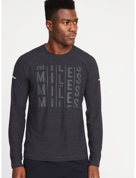 Ultra Soft Breathe On Built In Flex Graphic Tee For Men by Old Navy
