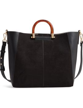 Sallie Faux Leather Shopper by Topshop