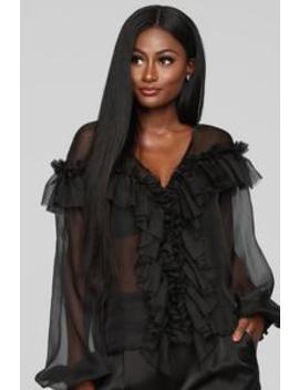 Sweet Temptations Top   Black by Fashion Nova