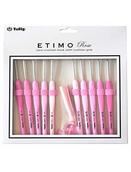 Tulip Etimo Rose Lace Crochet Hook Set by Tulip