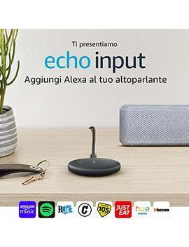 Echo Input, Nero – Aggiungi Alexa Al Tuo Altoparlante – È Richiesto Un Altoparlante Esterno Con Ingresso Audio Da 3,5 Mm O Bluetooth by Amazon