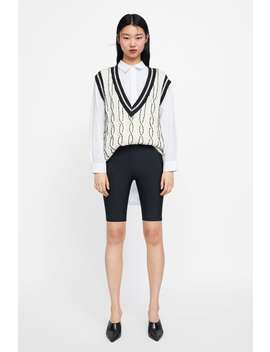 Short Cycling Leggings  View All Trousers Woman New Collection by Zara